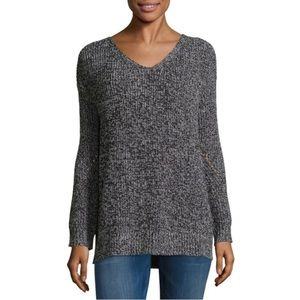NWT a.n.a L/S V-Neck Cross Back Pullover Sweater